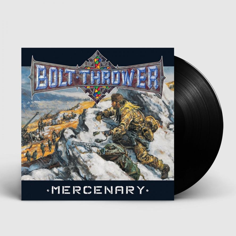BOLT THROWER - Mercenary [BLACK] (LP)