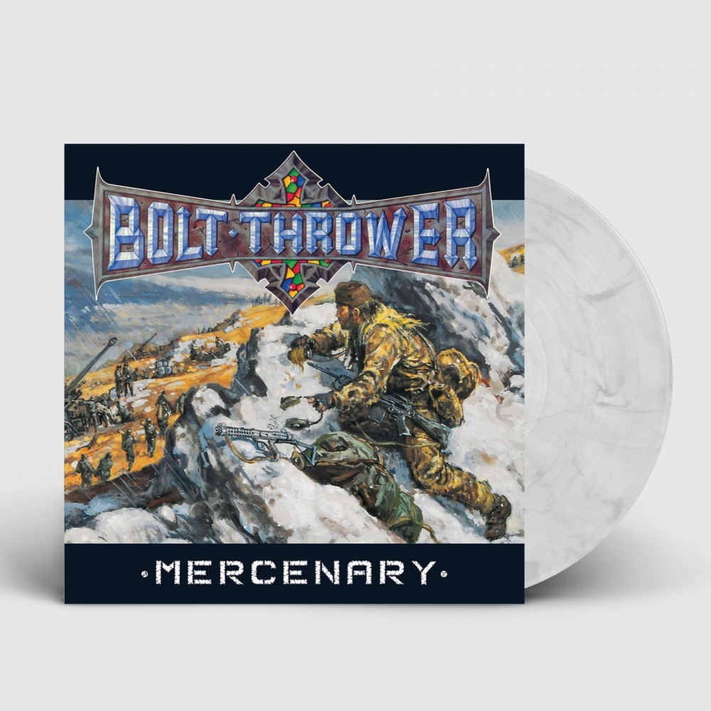 BOLT THROWER - Mercenary [SNOW WHITE] (LP)