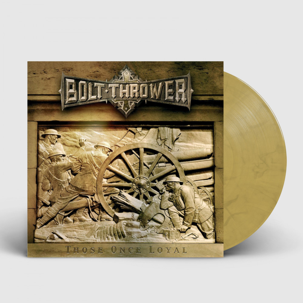 BOLT THROWER - Those Once Loyal [YELLOW OCHRE] (LP)