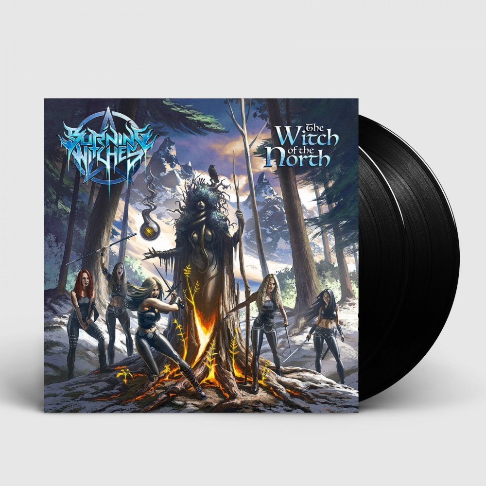 BURNING WITCHES - The Witch Of The North [BLACK] (DLP)