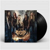 BURNING WITCHES - Wings of steel [BLACK] (LP)
