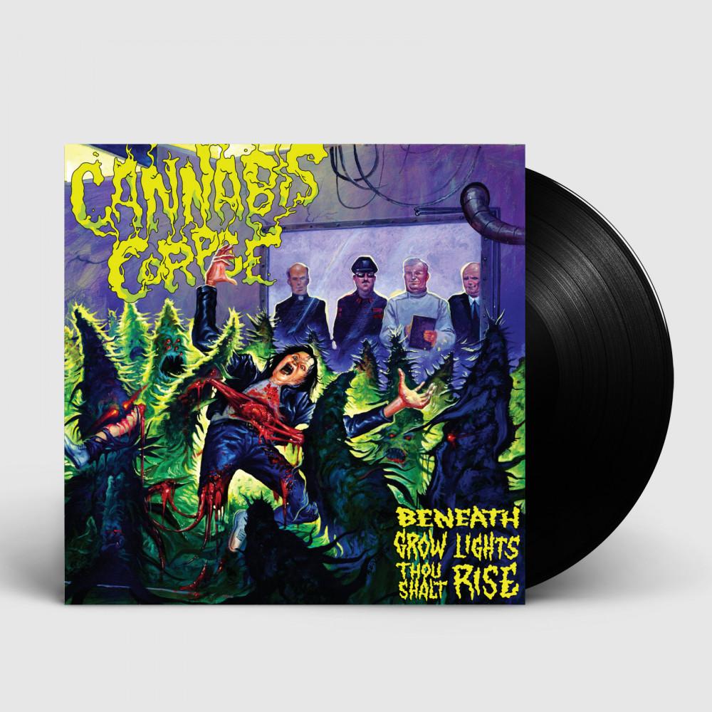 CANNABIS CORPSE - Beneath Grow Lights Thou Shalt Rise [BLACK] (LP)
