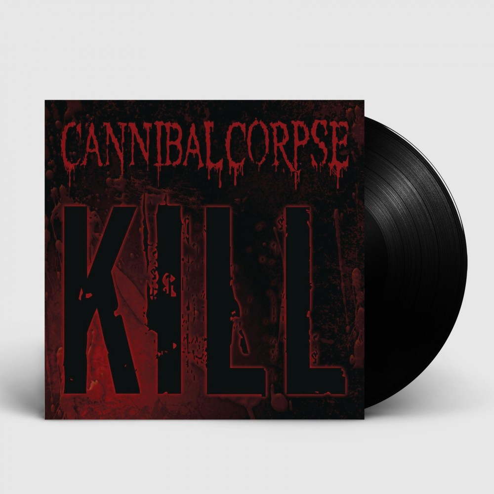 CANNIBAL CORPSE - Kill [BLACK] (LP)