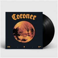 CORONER - R.I.P. [BLACK] (LP)