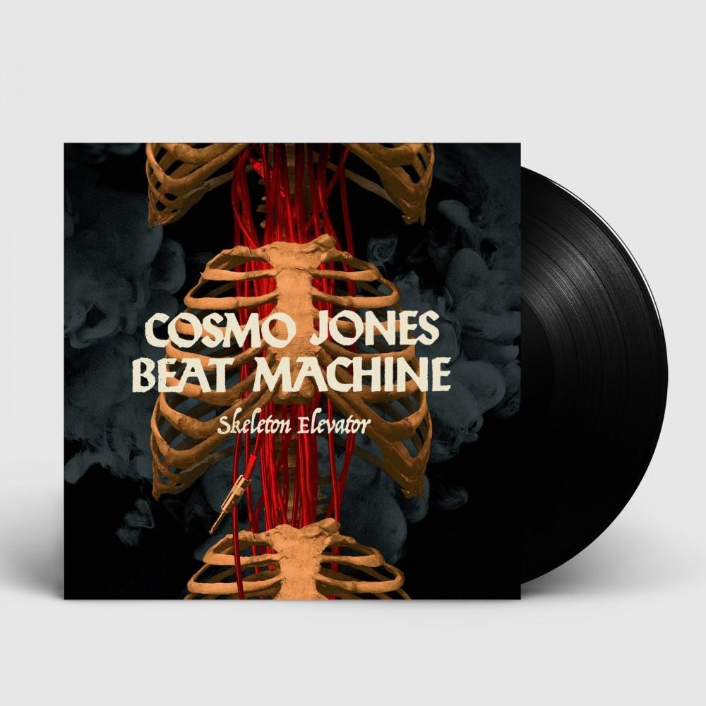 COSMO JONES BEAT MACHINE - Skeleton Elevator [BLACK] (LP)