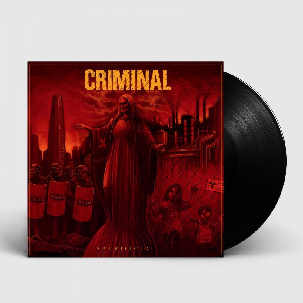 CRIMINAL - Sacrificio [BLACK] (LP)