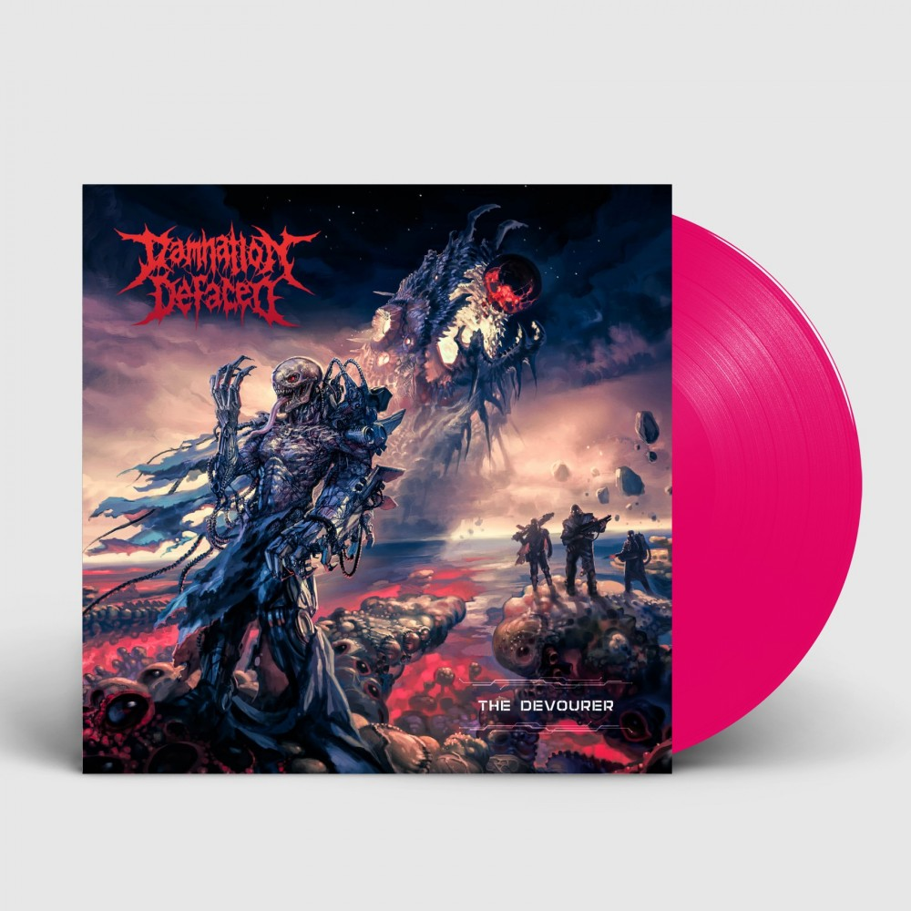DAMNATION DEFACED - The Devourer [PINK] (LP)