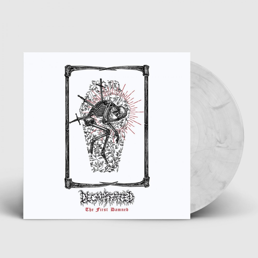 DECAPITATED - The first damned [WHITE/BLACK] (LP)