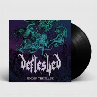 DEFLESHED - Under The Blade [BLACK] (LP)