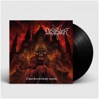 DESASTER - Churches Without Saints [BLACK] (LP)