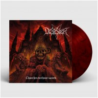 DESASTER - Churches Without Saints [DARK RED] (LP)