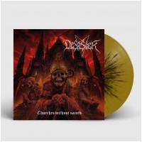 DESASTER - Churches Without Saints [GOLD/BLACK] (LP)