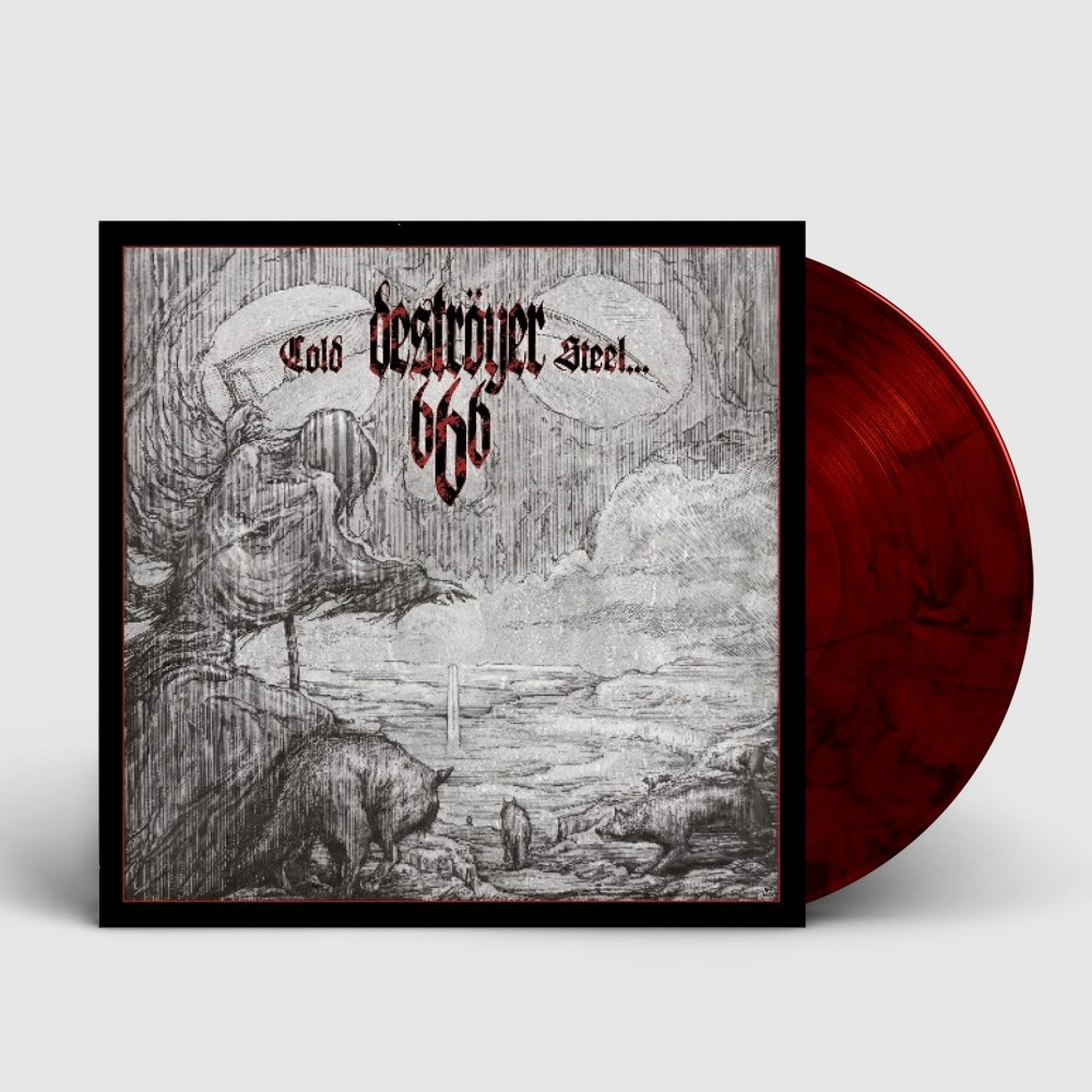 DESTRÖYER 666 - Cold Steel For An Iron Age [RED/BLACK] (LP)