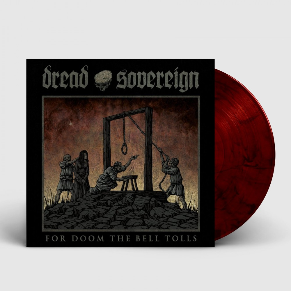 DREAD SOVEREIGN - For Doom the Bell Tolls [RED] (LP)