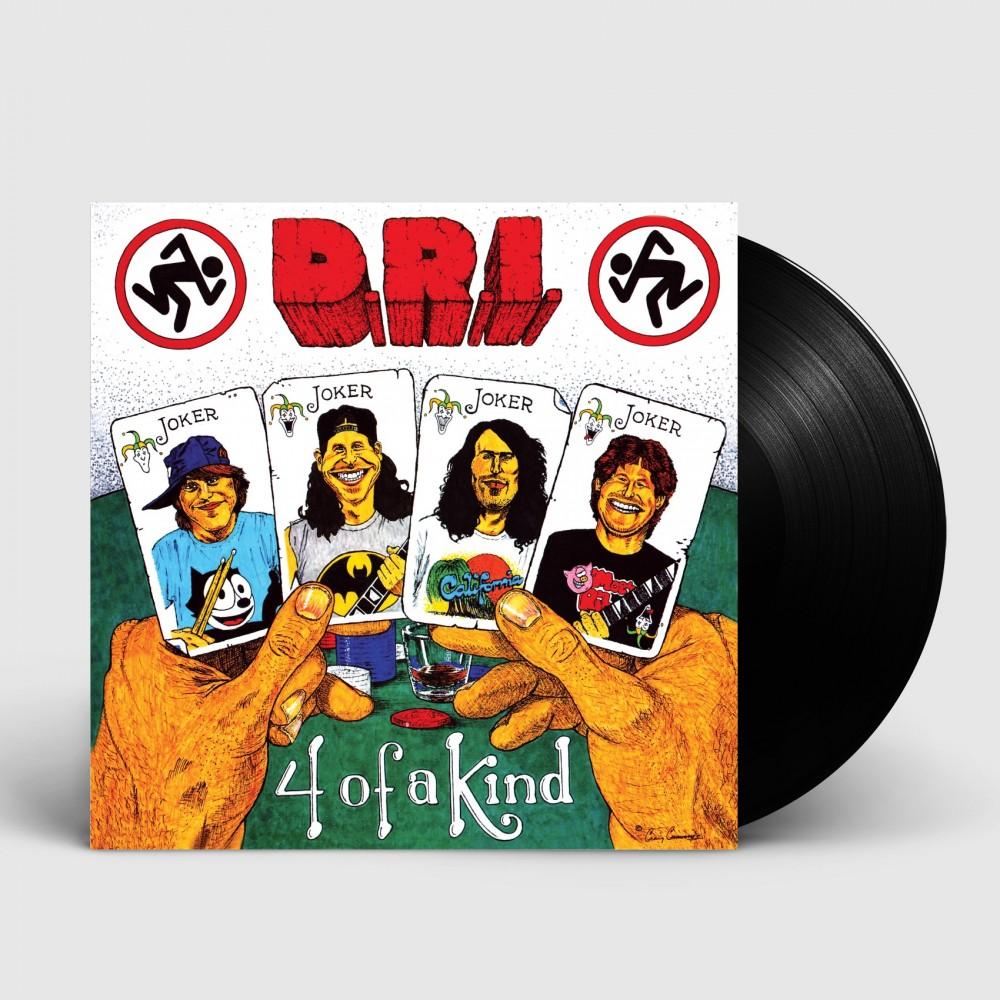 DRI - 4 of a Kind [BLACK] (LP)