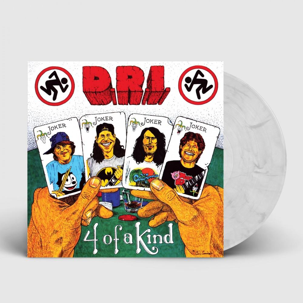 DRI - 4 of a Kind [WHITE/BLACK] (LP)