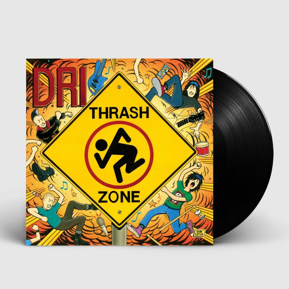 DRI - Thrash Zone [BLACK] (LP)