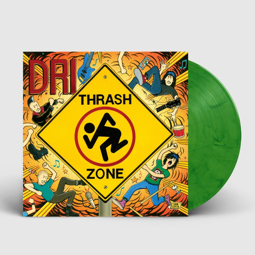 DRI - Thrash Zone [GREEN] (LP)
