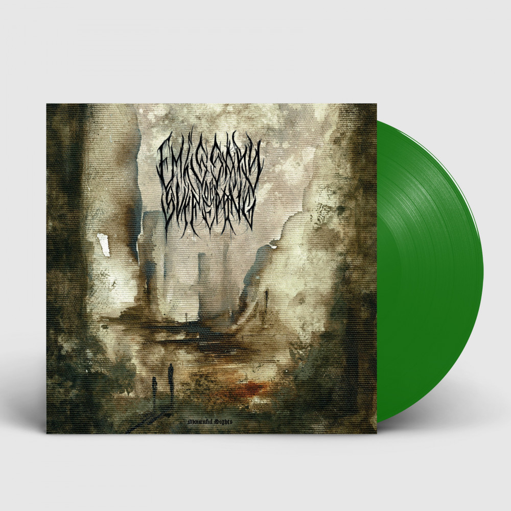 EMISSARY OF SUFFERING - Mournful Sights [GREEN] (LP)
