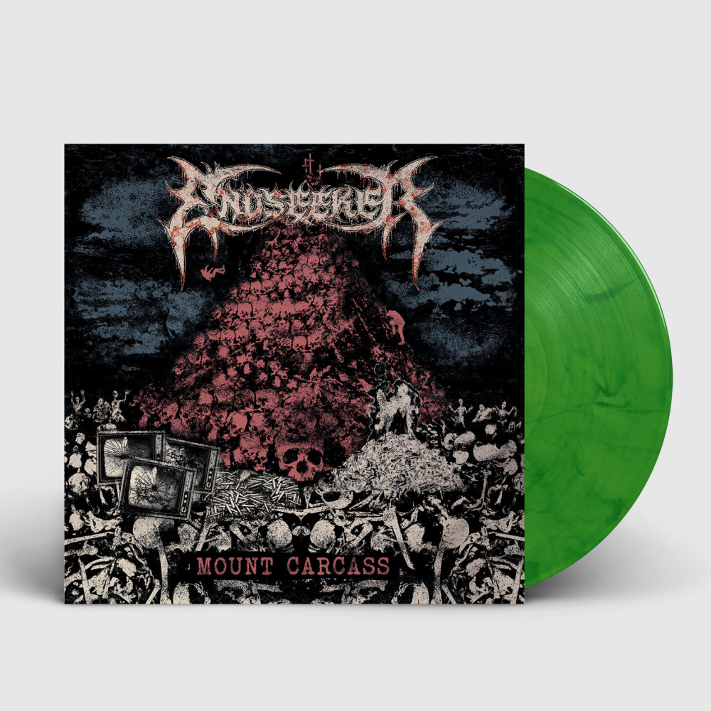 ENDSEEKER - Mount Carcass [GREEN] (LP)