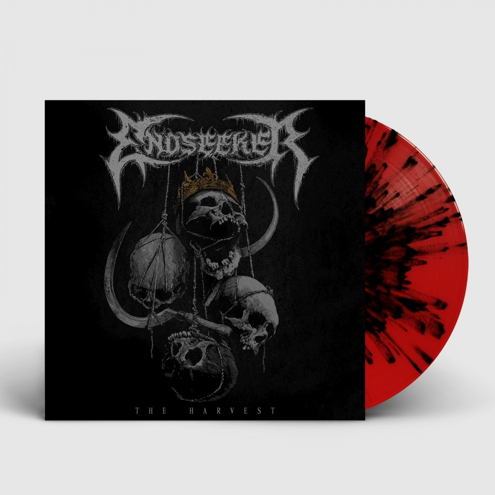 ENDSEEKER - The Harvest [RED/BLACK] (LP)