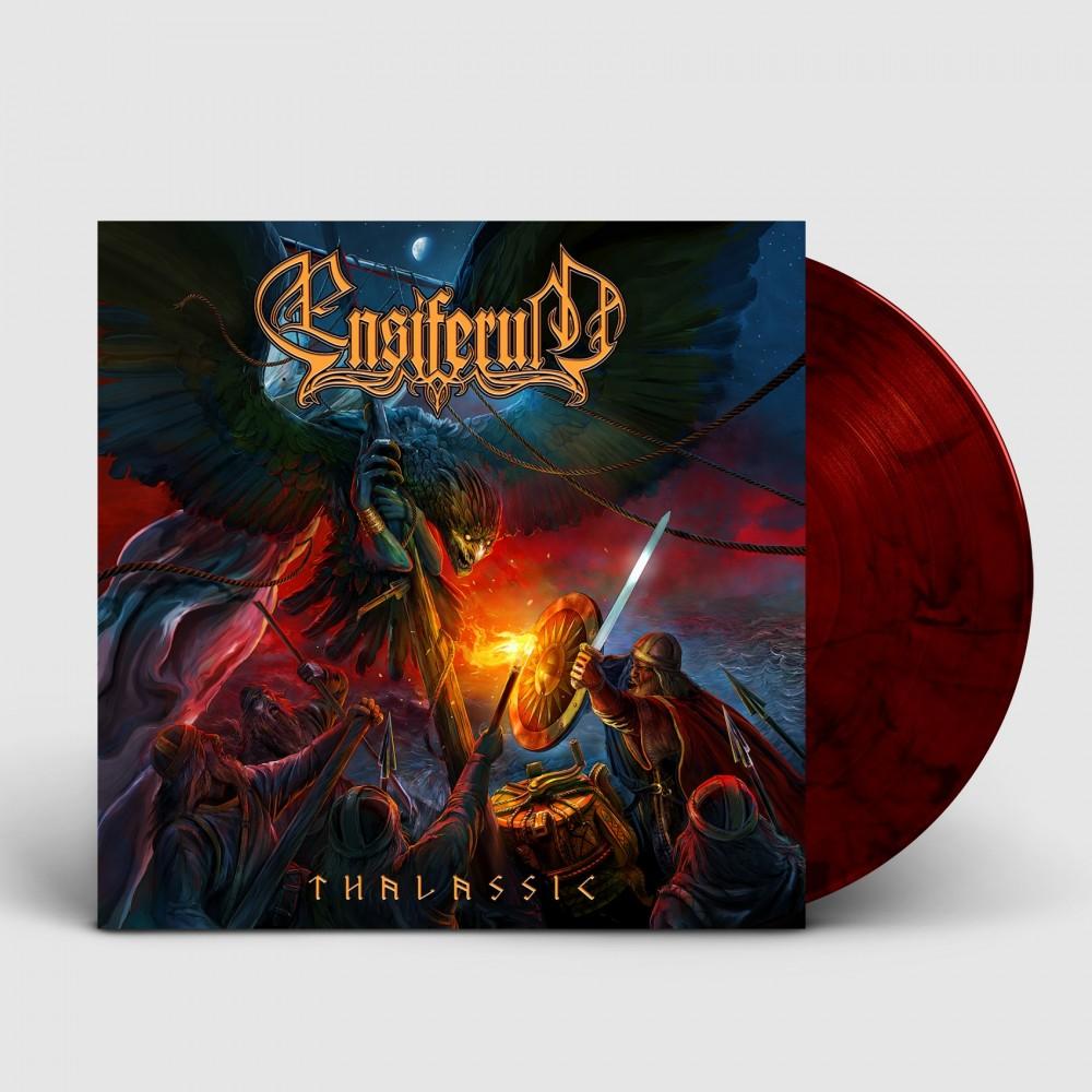ENSIFERUM - Thalassic [RED/BLACK] (LP)