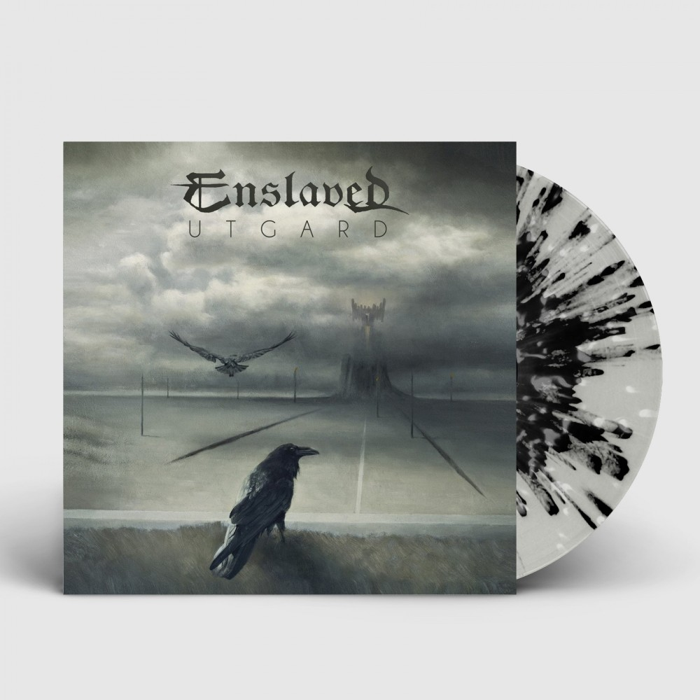 ENSLAVED - Utgard [CLEAR/BLACK/WHITE] (LP)