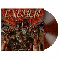 EXUMER - Hostile Defiance [RED/BROWN/BLACK] (LP)