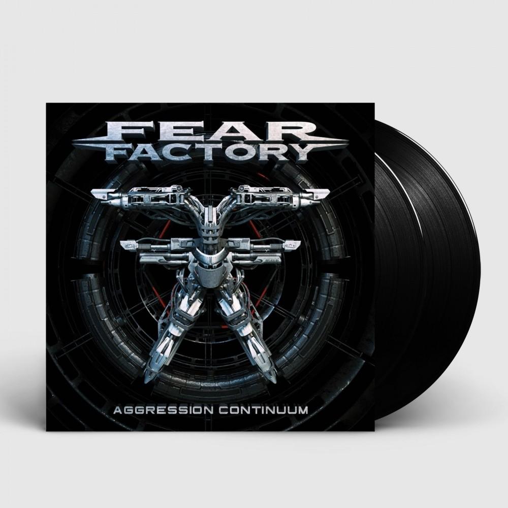 FEAR FACTORY - Aggression continuum [BLACK] (DLP)