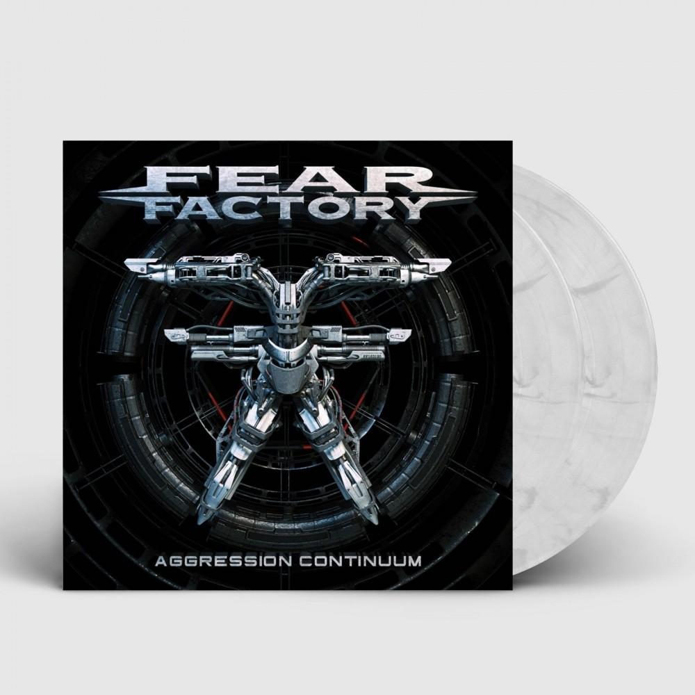 FEAR FACTORY - Aggression Continuum [CLEAR/BLACK] (DLP)