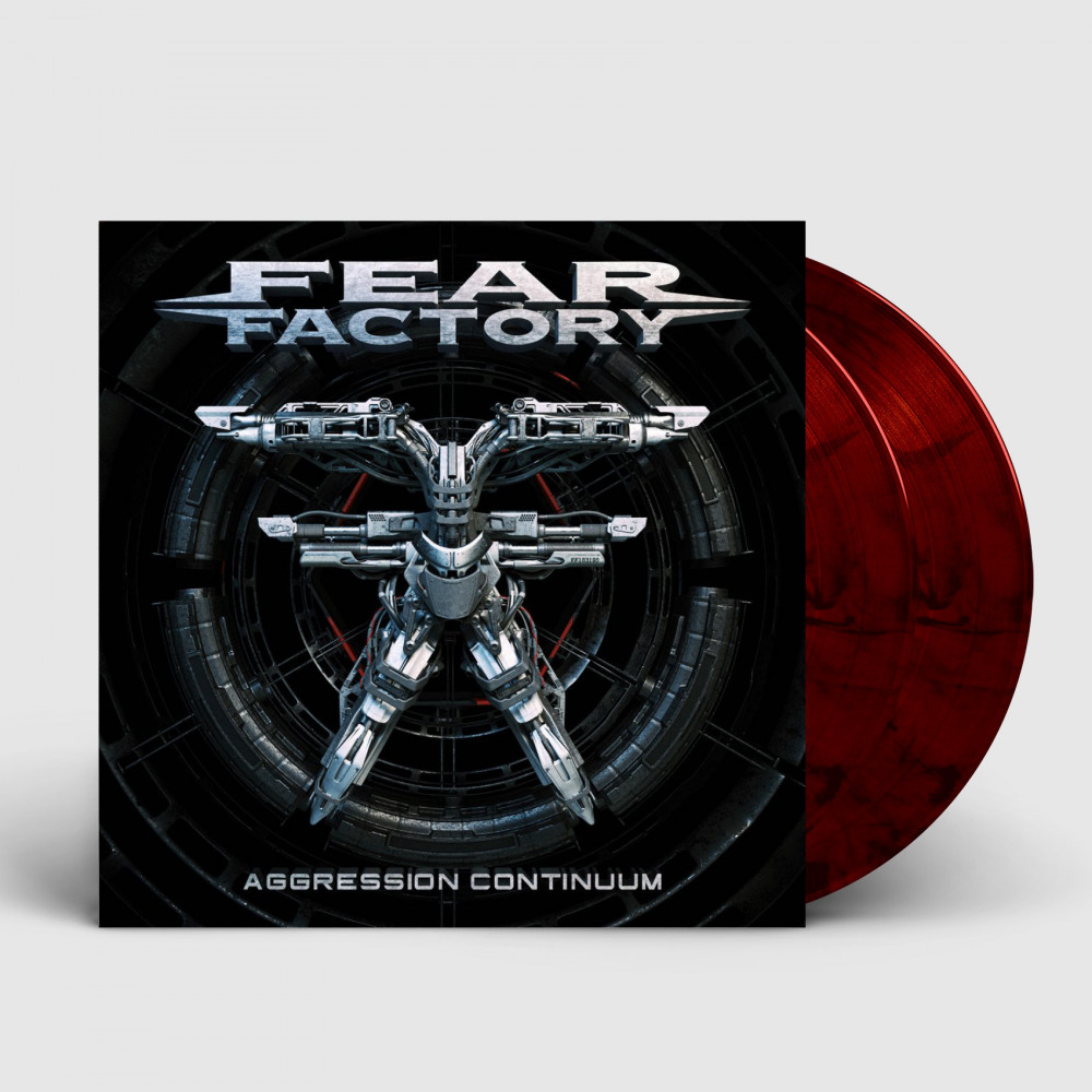 FEAR FACTORY - Aggression Continuum [RED/BLACK] (DLP)