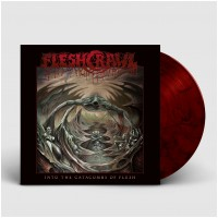 FLESHCRAWL - Into The Catacombs Of Flesh [RED/BLACK] (BOXLP)