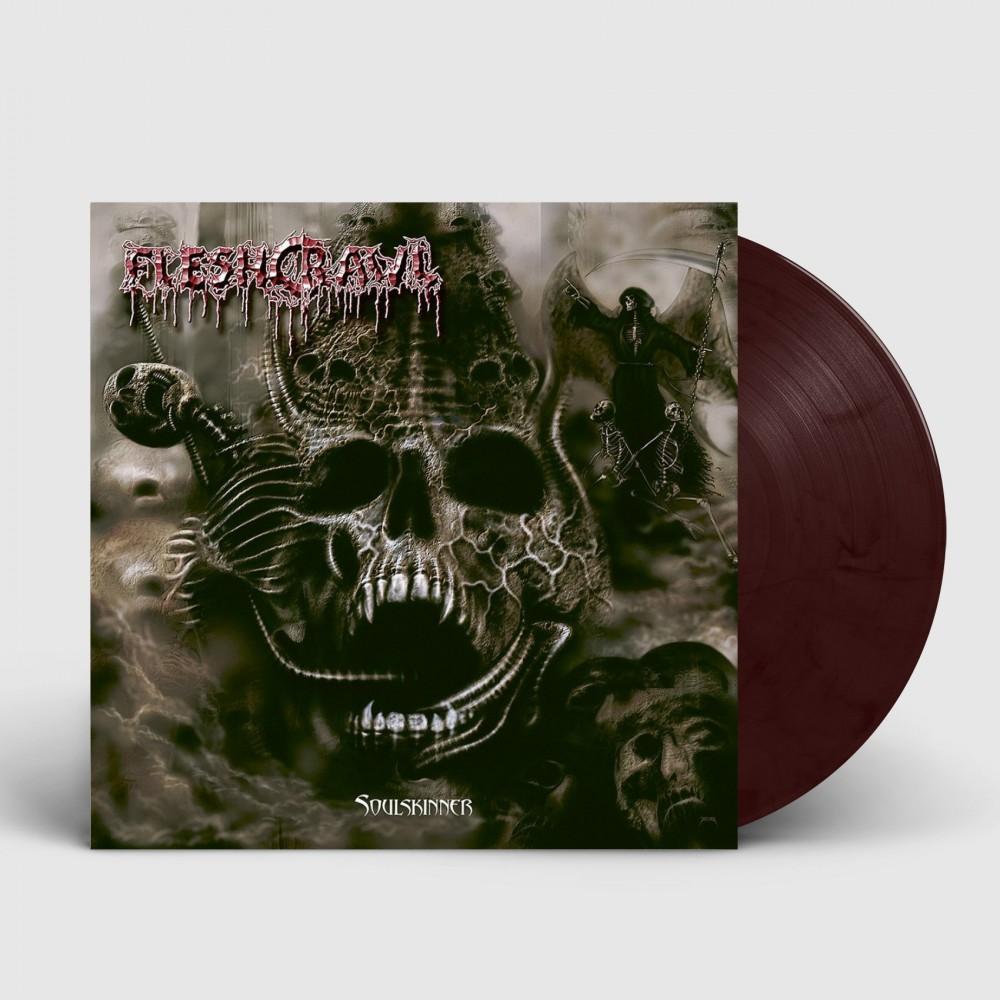 FLESHCRAWL - Soulskinner [BURGUNDY] (LP)