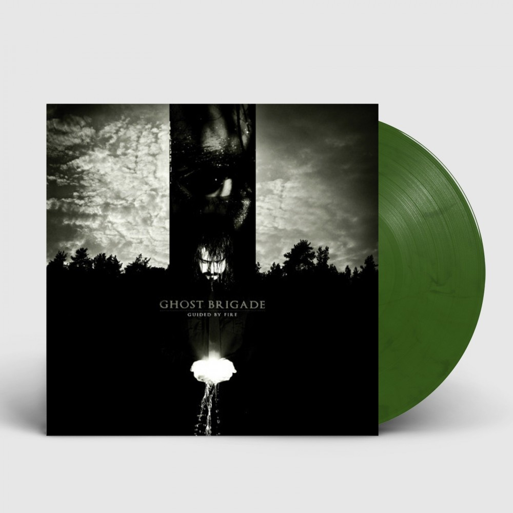 GHOST BRIGADE - Guided By Fire [SILVER/GREEN] (LP)