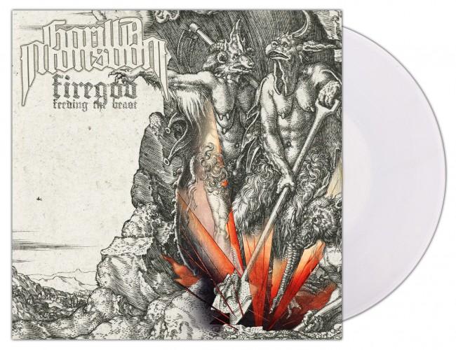 GORILLA MONSOON - Firegod - Feeding The Beast [CLEAR] (LP)
