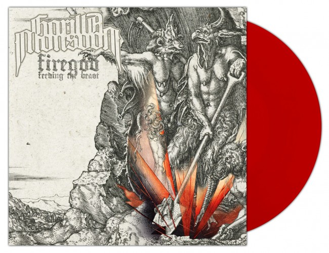 GORILLA MONSOON - Firegod - Feeding The Beast [RED] (LP)