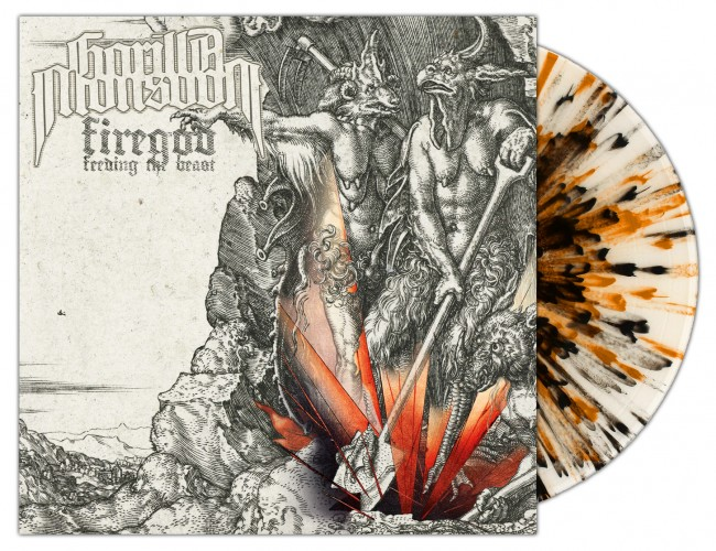 GORILLA MONSOON - Firegod - Feeding The Beast [SPLATTER] (LP)