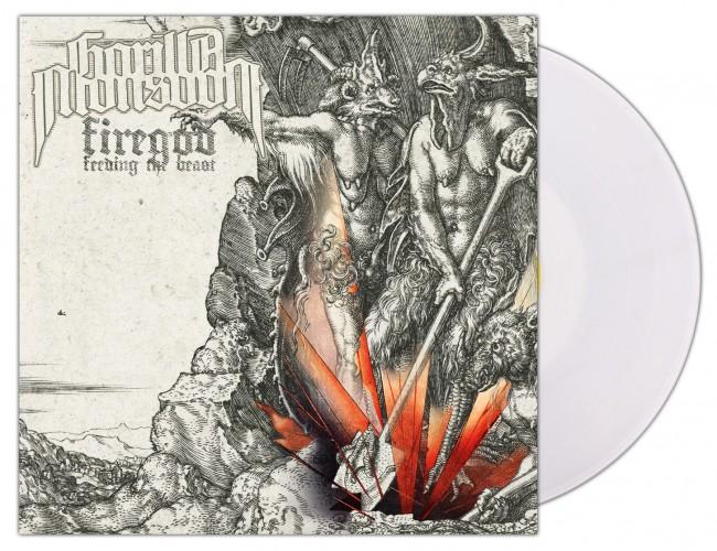 GORILLA MONSOON - Firegod - Feeding The Beast [WHITE] (LP)