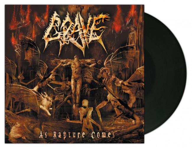 GRAVE - As Rapture Comes [BLACK] (LP)
