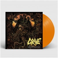 GRAVE - Burial Ground [ORANGE - 2019] (LP)