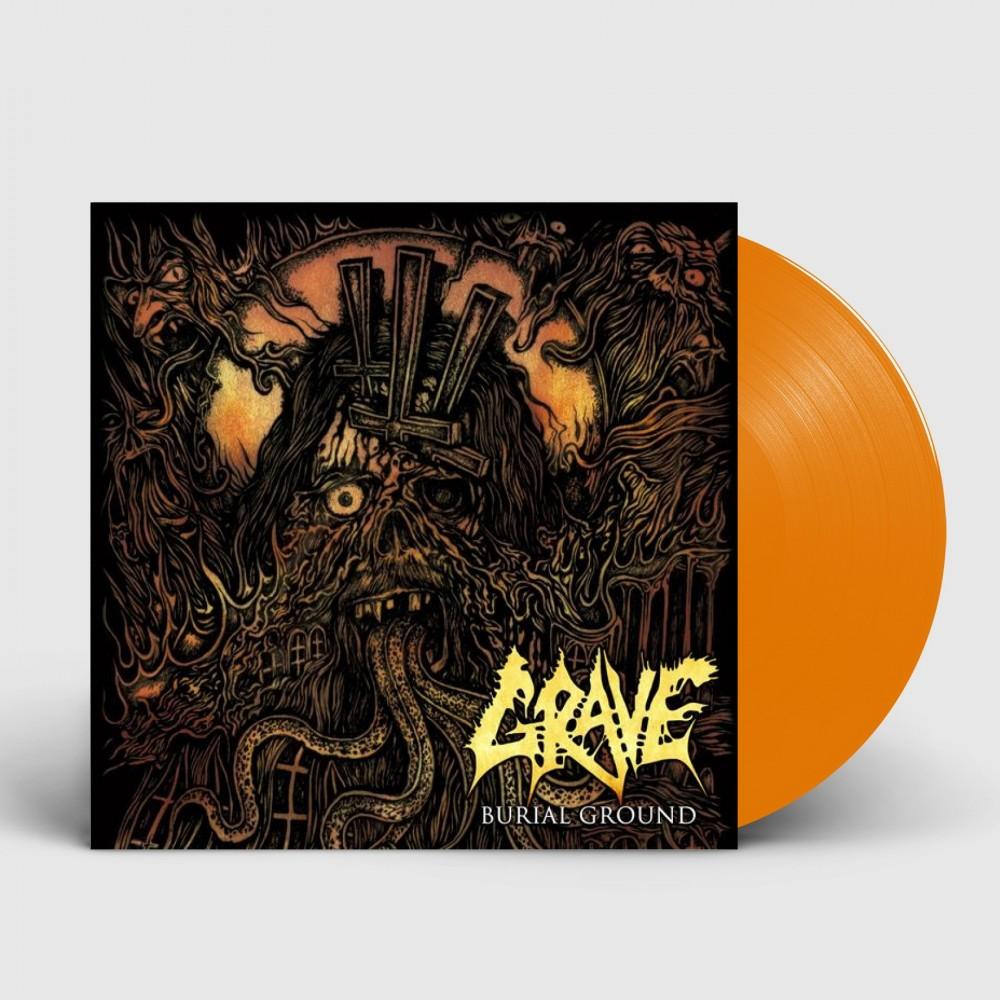 GRAVE - Burial Ground [ORANGE - 2019] (LP)