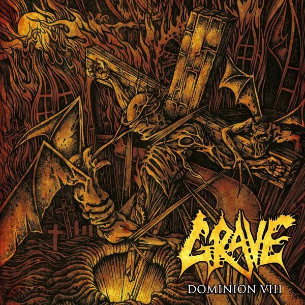 GRAVE - Dominion VIII [GREEN - 2019] (LP)