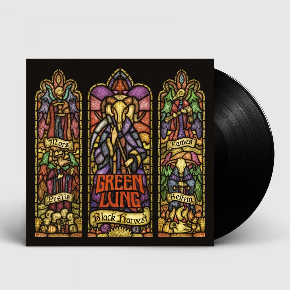 GREEN LUNG - Black Harvest [BLACK] (LP)