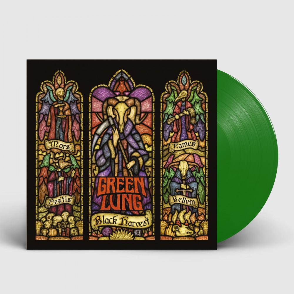 GREEN LUNG - Black Harvest [GREEN] (LP)