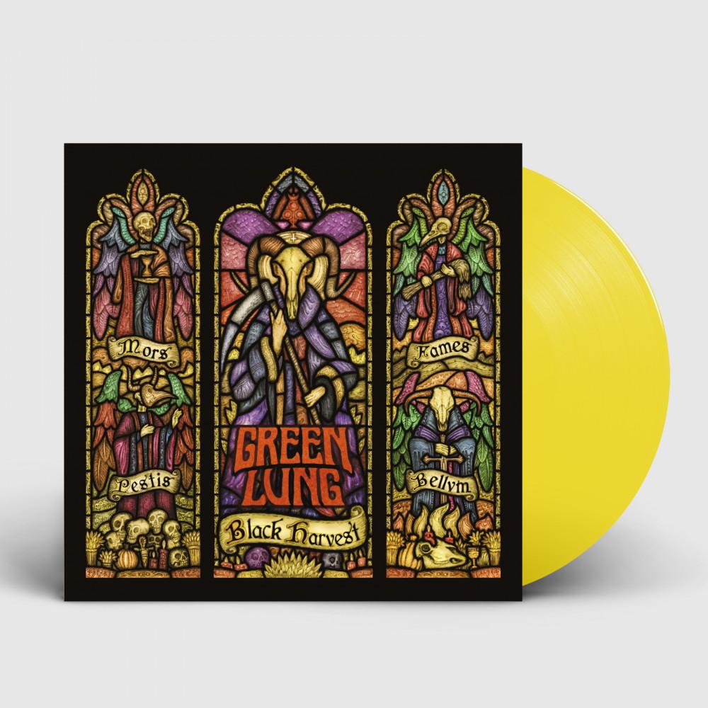 GREEN LUNG - Black Harvest [YELLOW] (LP)