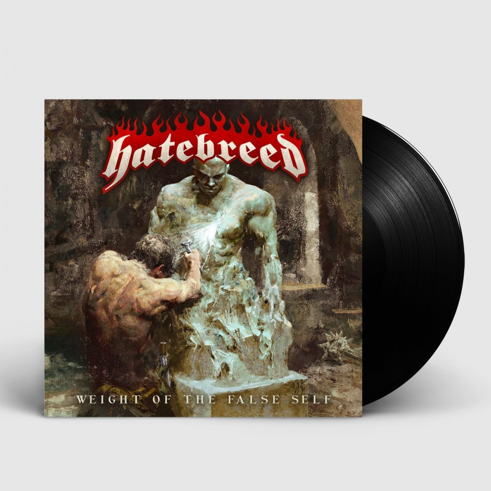 HATEBREED - Weight of the false self [BLACK] (LP)