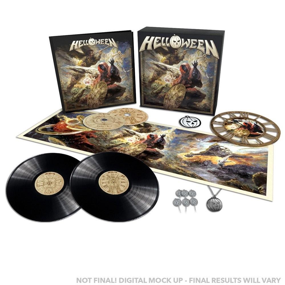HELLOWEEN - Helloween [BLACK 2-LP, 2-CD] (BOXLP)