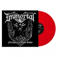 IMMORTAL - Northern chaos gods [RED] (LP)
