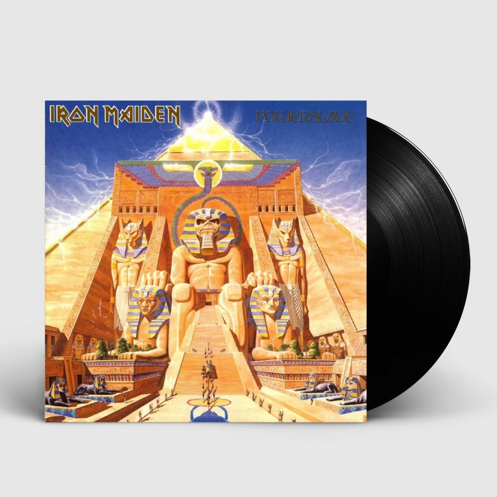 IRON MAIDEN - Powerslave [BLACK] (LP)