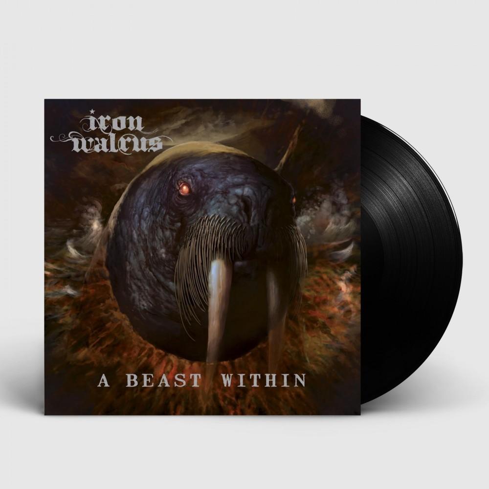 IRON WALRUS - A Beast Within [BLACK] (LP)